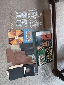 1969 Barnabas Collins Dark Shadows Board Game Original Near Complete NO FANGS MB