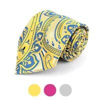 Paisley Pattern Elegant Men's Necktie (MPW5734)