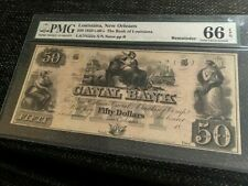 $50 1850's-60's The Bank of Louisiana, New Orleans, PMG