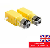 2 X TT Motor 130 Smart Car Robot Gear Motor for Arduino DC3V-6V DC Gear UK POST