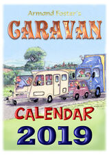 2019  CARAVAN CARTOON CALENDAR  - Armand Foster