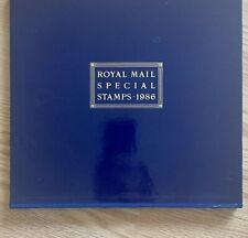 More details for royal mail (post office) year book number 3, with mnh stamps & slip case - 1986