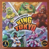 King of Tokyo Board Game - Mint condition - Italian - Italy Version Language