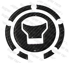 Stock 3D Carbon Fiber Gas Cap Tank Cover Pad Sticker For CBR500R 2014 2015 2016