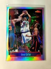 VINCE CARTER 1999-00 TOPPS CHROME REFRACTOR #98 SUPER RARE 2ND YEAR RC