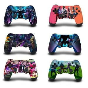 PS4 Dualshock Controller Fortnite Skins Decals New Rare Fortnite Vinyl Covers !