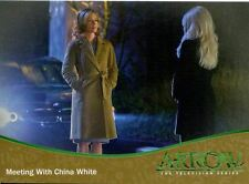 Arrow Season 1 Gold Parallel Base Card #69 Meeting With China White
