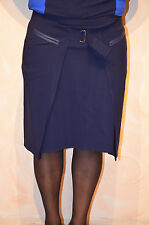 Falda azul marino marithé FRANÇOIS GIRBAUD talla 40 nuevo ETIQUETA valor