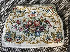 Small floral embroidered purse clutch bag wallet vintage sweet
