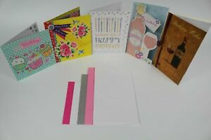Mixed Pack Birthday Cards, Packs of 5, 8, 10 or 18, For Him Her.