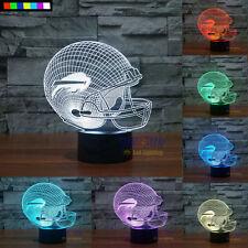 NFL Buffalo Bills 3D Night Light Free Shipping 7 Colors Change LED Table Lamp
