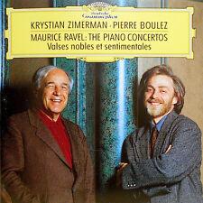 CD Ravel Krystian Zimerman Pierre Boulez The Piano Concertos Valses Nobles
