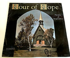 "Hour of Hope Vinyl 12"" Hymns of Inspiration Never Alone I Saw the Light Record"