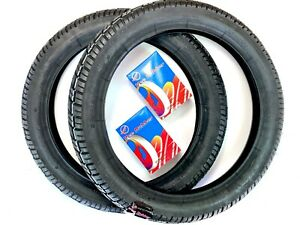 Simson SET 2x Reifen 2x Schlauch 2.75-16 2 3/4x16 für S50 S51 S70 S53 KR51/1 /2