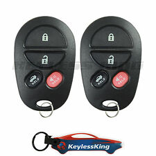 2 Replacement for Toyota Solara 2004 2005 2006 2007 2008 Remote