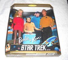 Star Trek Gift Set : Barbie & Ken (30th anniversary) - (Misb) - 100% complete