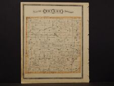 Indiana, Grant County Map, 1877, Township of Monroe, K2#91