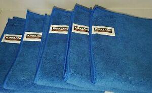 Kirkland Signature Ultra Plush Microfiber Cloth Home/Auto Use 5 Pack New