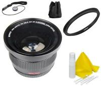 Bower Wide Angle (FISHEYE) Lens For Nikon D5600 D3500 D3400 w/ AF-P DX 18-55mm