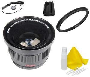 Wide Angle Fisheye Lens Kit For Sony Alpha DSLR Camera A290 A99 A77 A68 A65 A37