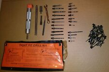 Omni Tight Fit Right Angle Drill Attachment With Extension Kit And Drill Bits