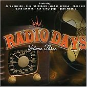 Title: Various Artists - Radio Days, Vol. 3 .NEW.CD.Last Of Stock!