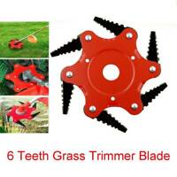 NEW 6 Steel Blades Razors 65Mn Lawn Mower Grass Eater Trimmer Head Brush Cutter