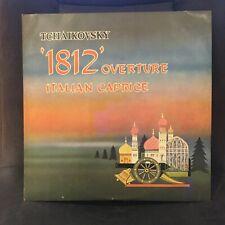 TCHAIKOVSKY 1812 OVERTURE / ITALIAN CAPRICE SWAN LAKE WALTZ VINYL LP, ATL4084