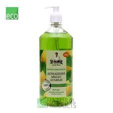 Agafia Natural Homemade Soap Lemon & Peppermint 1000ml