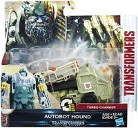 Transformers The Last Knight 1 Step Turbo Changer Autobot Hound BNIB #NG
