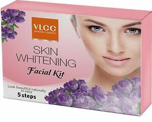 Vlcc Skin Whitening Facial Kit | Single Use Mini Face Kit | 5 Step Facial Kit