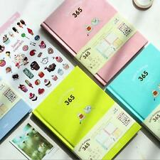 """""""Candy 365"""" 1pc Weekly Monthly Daily Planner Cute Notebook Study Agenda Journal"""