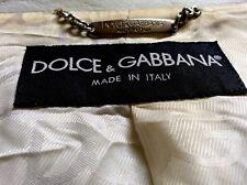 Vintage Dolce and Gabbana (gold label) Été Veste UK 42/44 IT54