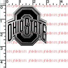New NCAA Ohio State Buckeyes Car Truck Plastic Chrome 3-D Sticker Decal Emblem
