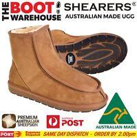 Shearers Original Men's Moccasin Ugg Boots - Australian Made With sheep Skin