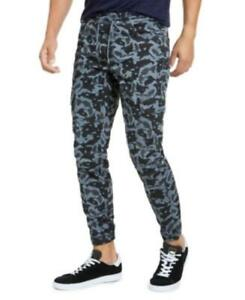 MSRP $50 American Rag Men's Camo Jogger Pants Gray Size Medium