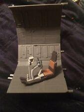 Star Wars Legacy Millennium Falcon interior gunner station great for diorama!