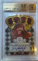 ROOKIE! 2009-10 JRUE HOLIDAY Crown Royale (Auto/RC) (X/599) BGS 9.5/10!