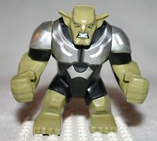 Lego GREEN GOBLIN FIGURE from Super Heroes Spider-Helicopter Rescue (76016)