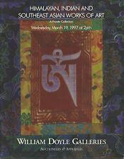DOYLE INDIA HIMALAYA TIBET NEPAL KHMER  ART Sculptures Buddha Auction Catalog 97