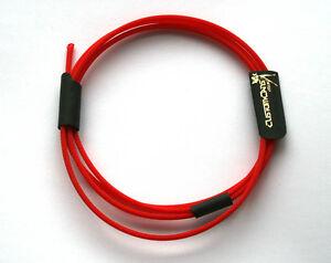 Red Custom Color HD 25 Cable Wrap Kit DIY Sennheiser HD25 HD25-1 Braid