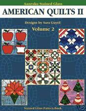 Stained Glass Aanraku -AMERICAN QUILTS 2  PATTERN BOOK