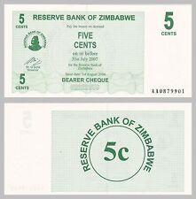 Simbabwe / Zimbabwe 5 Cents 2006 p34 unz.