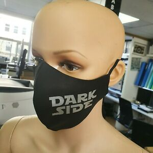 Star Wars Reusable Black Cotton Face mask Adjustable Fashion keep distance UK