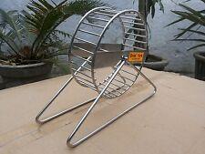 Hamster wheel in stainless steel 6 inch diameter 1 Pcs