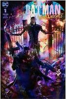 BATMAN WHO LAUGHS #1 CLAYTON CRAIN FOIL TRADE VARIANT DC COMICS 750 PRINT RUN