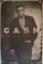 Johnny Cash Poster Turtleneck Blazer Columbia 24x36