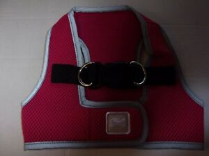 Dk PINK Reflective Body Harness Vest M Pet Dog new no choke free step-in pup