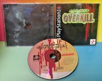 Project Overkill - Konami - Playstation 1 2 PS1 PS2 Rare Game Tested