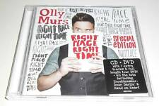 OLLY MURS - RIGHT TIME RIGHT PLACE - SPECIAL EDITION UK CD + DVD 2 DISC ALBUM